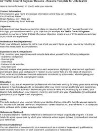 ... Air Traffic Control Engineer Sample Resume 12 10 Controller Examples  Free Resumes ...