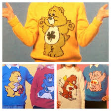 Care Bears Knitting Pattern Sweaters For Children And By