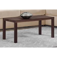 Parsons Square Coffee Table Coffee Table Square Parsons Coffee Table In Espresso