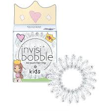<b>invisibobble</b>® No-Ouch Hair Ring 3 Pack <b>KIDS Princess Sparkle</b> ...