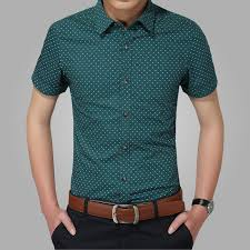 Patterned Button Up Shirts Magnificent Men's Slim Fit Patterned ButtonUp Shirt 48 Colors Latest Men's