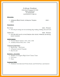 Sample College Admission Resume – Resume Ideas Pro
