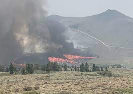 Governors Will Tour Tamarack Fire ...