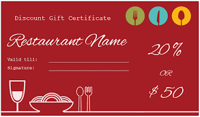 Microsoft Word Templates Gift Certificates Restaurant Gift Certificate Template Microsoft Word Anekanta Info