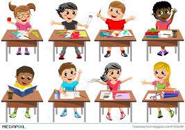 classroom desk clipart. kids in classroom clipart 18 desk e