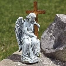 angel garden statues outdoor garden