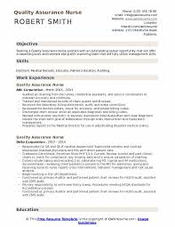 Common duties listed on a quality control technician resume example are running tests analyzing products assigning tasks. Quality Assurance Nurse Resume Samples Qwikresume