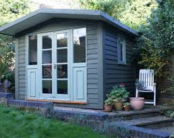home office in the garden. Office Painted Garden Rooms Home In The