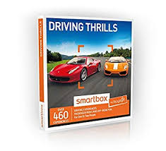 agift driving thrills gift experiences box 460 driving experience days on tracks and courses across
