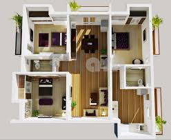 3 Bedroom Apartments Plans Awesome 20 House Plans ...