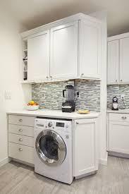 under cabinet washing machine in kitchen