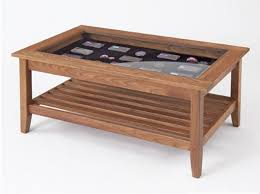 glass end tables for wooden frame with tempered with showcase under glass modern and wooden