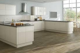 White High Gloss Kitchen Cabinets Kitchen Cabinets Cream Gloss Quicuacom