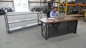 industrial office desk. Plain Industrial The Industrial Carruca Office Desk For R