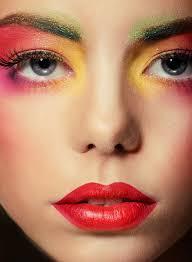 makeup woman person eye shadow beauty bright