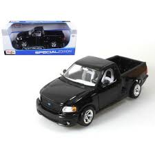 Ford F-150 SVT Lightning Black Pick Up Truck 1/21 Diecast Model By ...