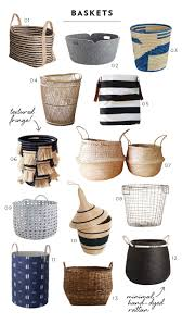 13 Neutral Baskets For Any Decor Style - Room For Tuesday