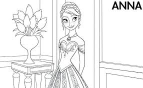 Disney Frozen Coloring Pages To Print Free Printable Christmas