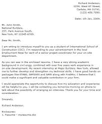 cover letter for engineering job sample cover letter for civil engineering internship sample cover