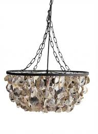 chair attractive creative co op chandelier 29 20 round x 9 34h oyster shell pendant creative
