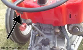 tractordata com massey ferguson 135 tractor information photo of 135 serial number