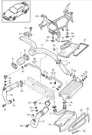 buy porsche 997 (911) mk2 2009 2012 997 mkii turbo 2009 water Cooling System Flow Diagram radiator inter cooler porsche 997 turbo