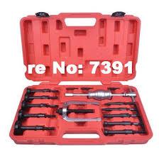 bearing puller slide hammer. blind hole bearing puller slide hammer pilot internal extractor installation removal kit st0030 e