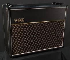 Custom Guitar Speaker Cabinets Vox V212c Custom 2x12 Speaker Cabinet Black