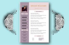 Creative Resume Template For Word And Pages