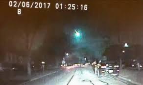 Midwest Lighting Michigan Meteor Caught On Dashcam Video