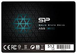 Твердотельный <b>накопитель Silicon</b> Power Ace A55 512GB ...