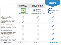 Different Budgeting Tools For Microsoft Dynamics Gp Erp
