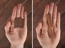 big red beard combs are designed to ficient and do the job right imagine combing your beard with a 1 4 inch thick comb it wouldn t give you the