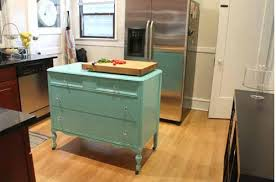 kitchen island mobile: well converting a dresser to a kitchen island is your answer if you think you donut have room put in on casters and you can have a mobile island just