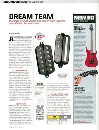 blog news dimarzio the full article dream team
