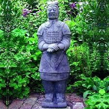 terracotta warrior garden statue chinese warrior garden statue terracotta warrior ornament stone