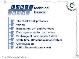 technical basics the profibus protocols wiring