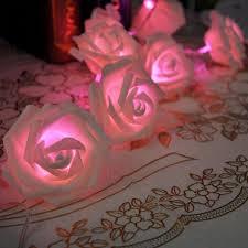 20led rose flower fairy string lights wedding garden party chris