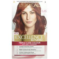 Light Copper Details About Loreal Excellence Creme 6 46 Light Copper Red