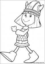 Small Picture Vicky the Viking coloring pages on Coloring Bookinfo
