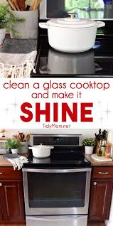 how to clean a glass cooktop