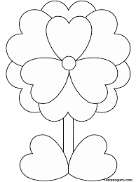 Small Picture Great Flower Coloring Pages Printable Nice KID 5207 Unknown