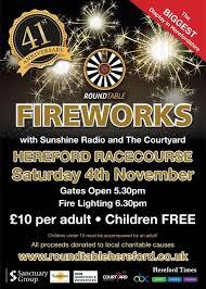 hereford roundtable fireworks