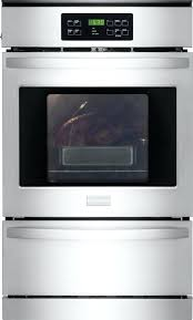 24 stainless gas wall oven gas built in single wall oven stainless steel ffgw25qs 24 inch