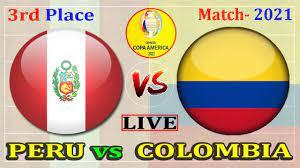 Live - Colombia vs Peru
