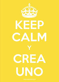 How To Make A Keep Calm Poster Keep Calm Create Your Own