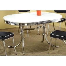 retro style dining table coaster company white oval retro style dining table vintage style dining furniture