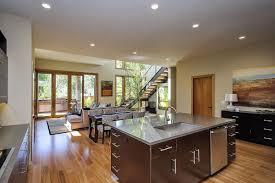 Rustic And Modern Home In Burlingame California - California kitchen