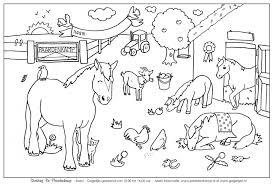 Paardenkamp Rangers Doen Kleurplaten Kleurplaat Kinderboerderij