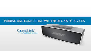 bose 414255. how to pair and connect the bose soundlink mini bluetooth speaker with ios/android devices 414255 1